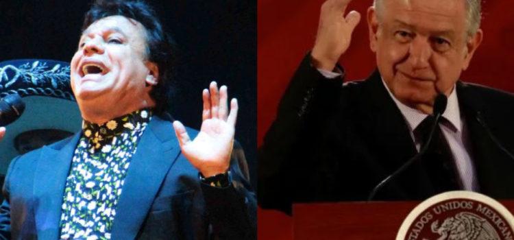 Organizan encuentro entre Juan Gabriel y López Obrador