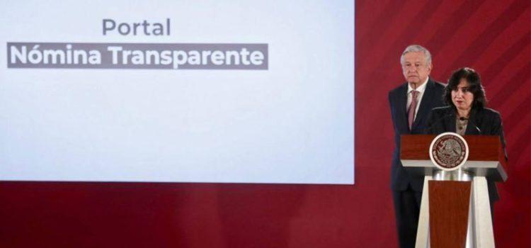 Ponen en marcha portal para consultar salario de funcionarios