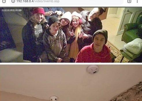 Familia encuentra cámara oculta en departamento que transmitía en vivo