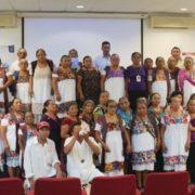 Capacitan a las parteras de IMSS Bienestar Yucatán y médicos tradicionales