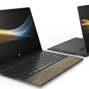 Lanzan laptop elaborada con madera