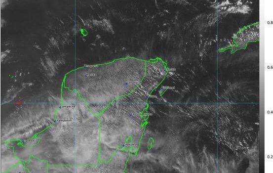 Caerán las primeras lluvias en la Península tras la ola de calor, informa Conagua