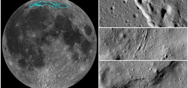La NASA revela que la Luna se está encogiendo; su corteza se está arrugando