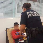 Abandonan a un menor de Ecatepec en el Aeropuerto de Mérida