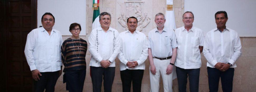 Reconocen la labor del alcalde Renán Barrera, quien respeta los derechos humanos en su Gobierno