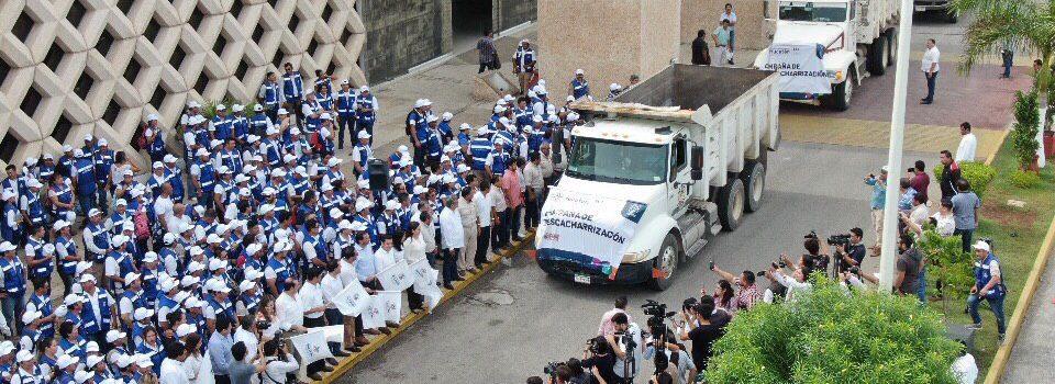 Mauricio Vila da el banderazo de inicio a la campaña de descacharrización 2019 en Mérida