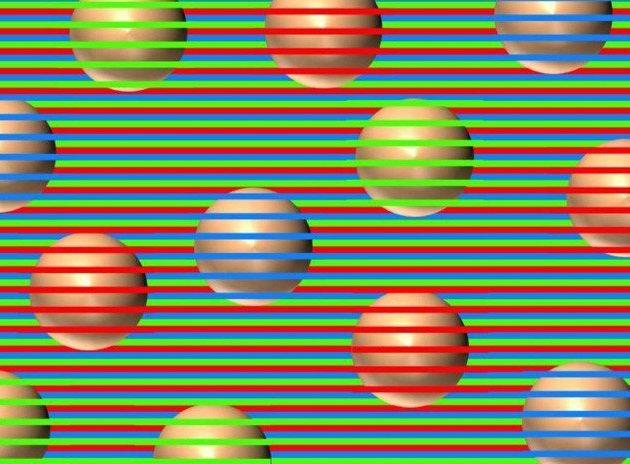¿De qué color son las esferas? Ilusión óptica que obliga al cerebro a 'inventar' colores se vuelve viral