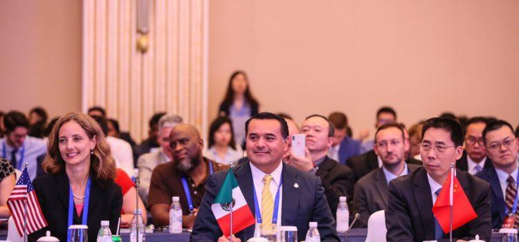 Exponen las fortalezas de Mérida para el desarrollo y la inversión en foro internacional de Chengdú
