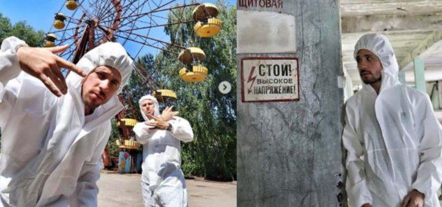 Las fotos de Luisito Comunica en Chernobyl que enfurecieron a sus fans