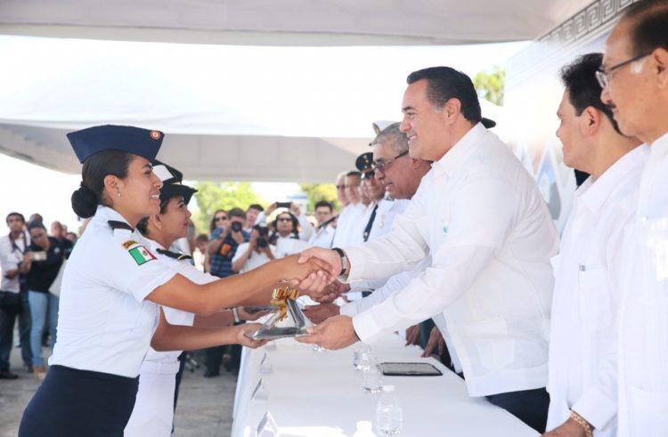 Destaca el alcalde Renán Barrera estrecha coordinación con las fuerzas armadas