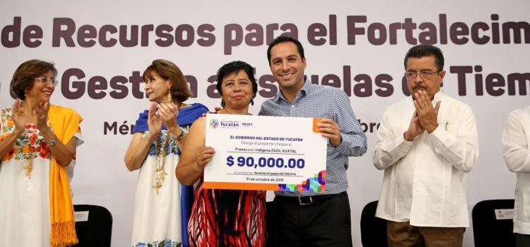 Gobernador Mauricio Vila anuncia incremento salarial para más de 28 mil trabajadores de la educación en Yucatán