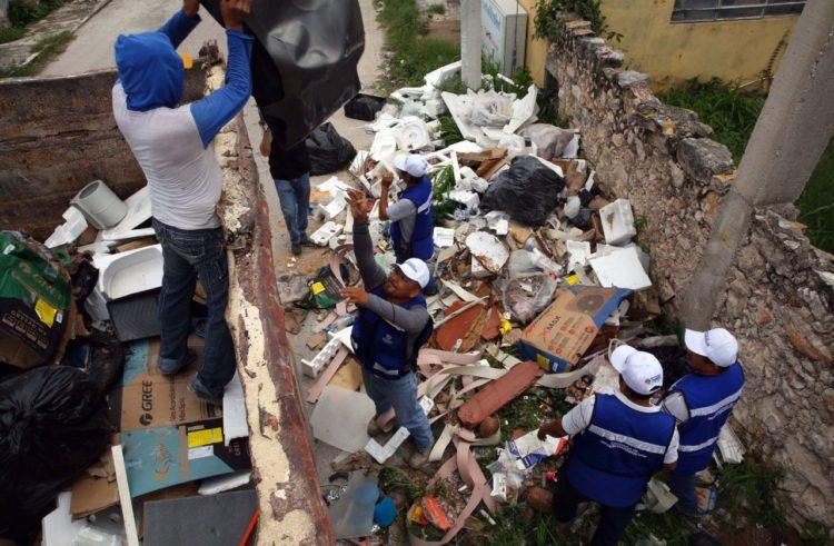 Recolectan 420 toneladas de cacharros en su fin de semana de descacharrización