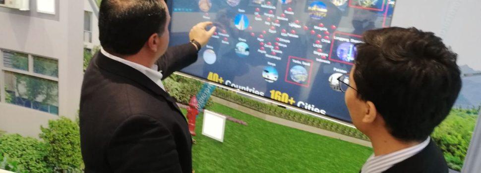 Renán Barrera perfila con Huawei posible colaboración para avanzar como ciudad inteligente