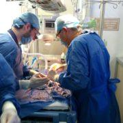 Exitosa cirugía a bebé prematura , en el Hospital O'Horán