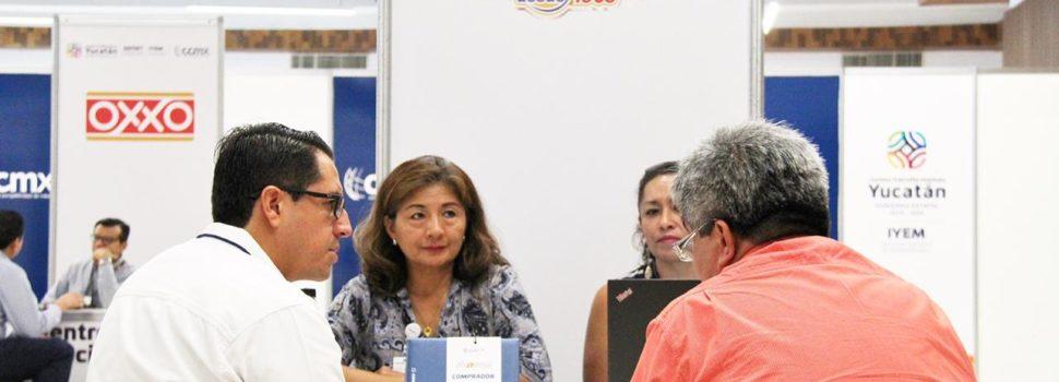 Encuentro de Negocios y Feria de Financiamiento, beneficia a más de 200 Mipymes yucatecas