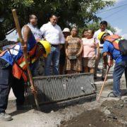 Alcalde de Mérida supervisa los trabajos de limpieza de calles y desazolve