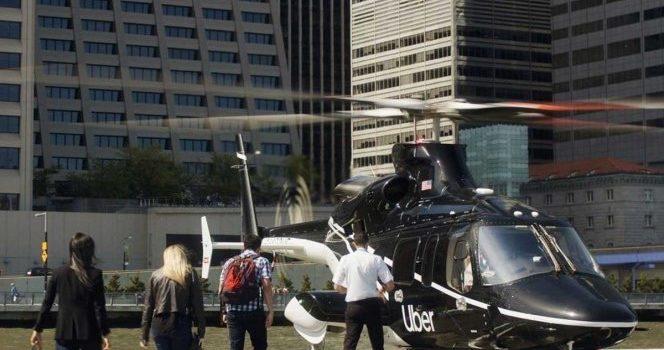 """Los """"Ubercópteros"""" ya vuelan por el cielo de Nueva York"""