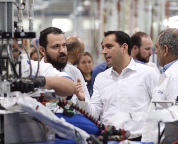 Crece generación de empleos en Yucatán