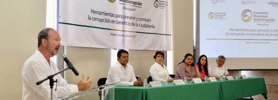 Yucatán, con buenos resultados en materia de transparencia: Sistema Nacional de Anticorrupción