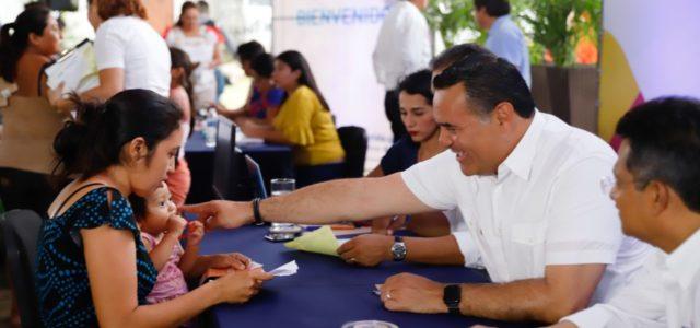 Renán Barrera acerca apoyos y programas del Ayuntamiento a las comisarías