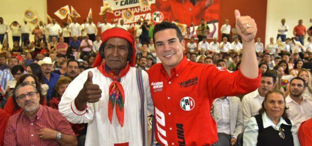 El PRI volverá a caminar con la gente: Alejandro Moreno