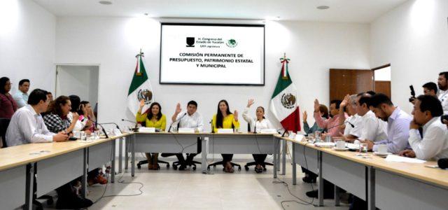 Aprueban en comisión crédito para la iniciativa Yucatán Seguro