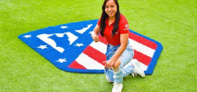 La delantera mexicana Charlyn Corral es nuevo refuerzo del 'Atleti' Femenino