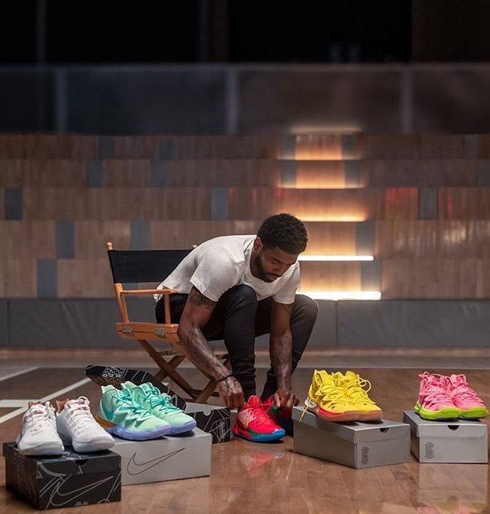 Kyrie Irving y Nike lanzan nueva colección cápsula de tenis de Bob Esponja