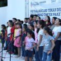 """Niñas, niños y jóvenes de Tekax reciben instrumentos musicales de """"Ko'one'ex Paax"""""""