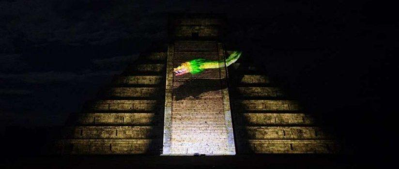 Show Noches de Kukulkán en Chichén Itzá solo ilumina El Castillo y el precio será de $250