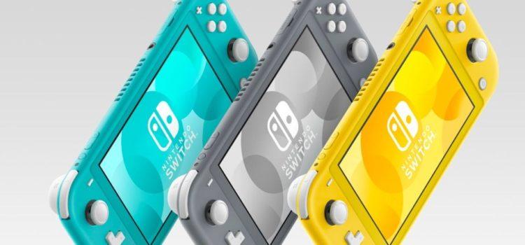 Nintendo anuncia fecha de lanzamiento del Swith Lite