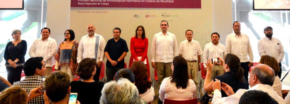 Yucatán es sede de Foro Regional en materia de Movilidad