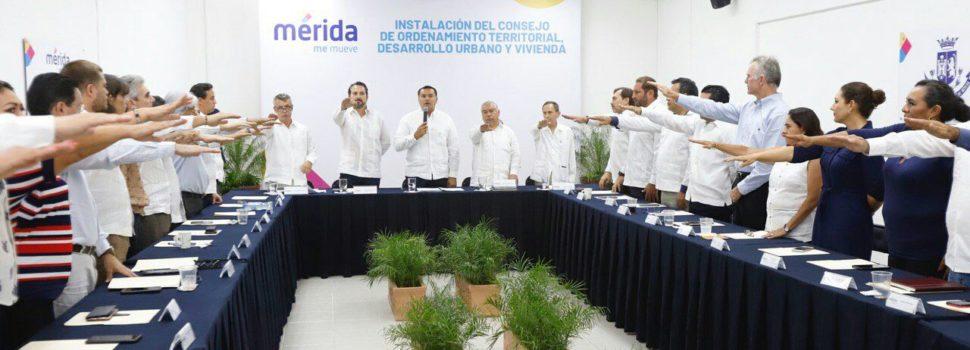 Renán Barrera trabaja por un ordenamiento territorial sustentable e inclusivo