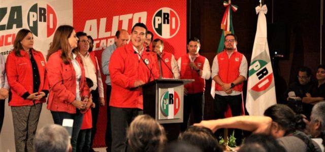 Confirman triunfo de Alito en Yucatán por más de 12 puntos