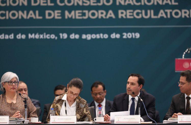 El Gobernador Mauricio Vila Dosal es nombrado presidente del Sistema Estatal de Mejora Regulatoria de la Zona Sureste