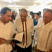 Gobernador Mauricio Vila Dosal firma pacto para impulsar el desarrollo de Yucatán y el sur-sureste