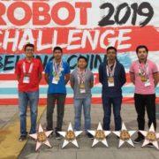 Mexicanos ganan cinco medallas en competencia de robótica en China