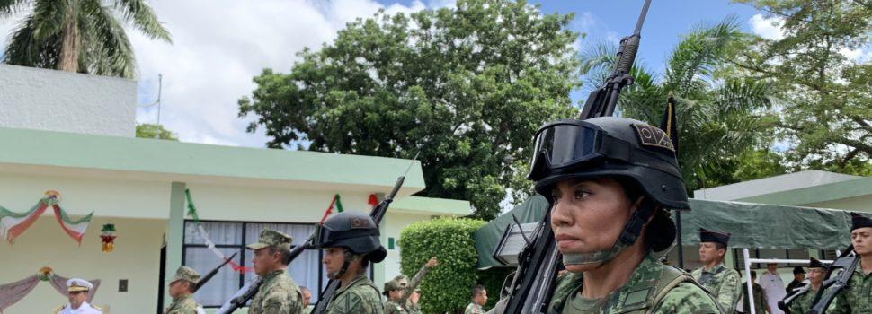 Las fuerza femenina enaltecerá el desfile cívico militar en el 209 aniversario de la Independencia de México