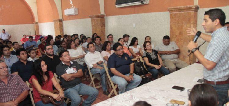 Presentan proyecto de consultorías para emprendedores de Tekax