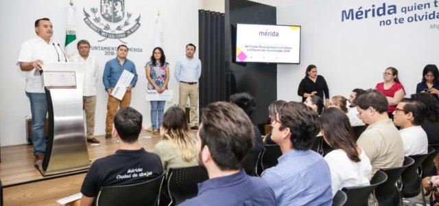 El alcalde Renán Barrera fortalece el liderazgo de Mérida en materia cultural y sustentable