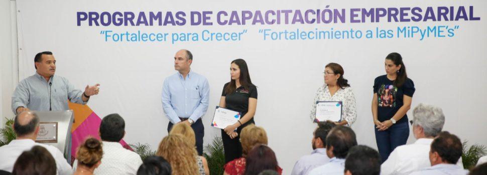 El apoyo al emprendimiento, fundamental en las políticas públicas que promueve el alcalde Renán Barrera
