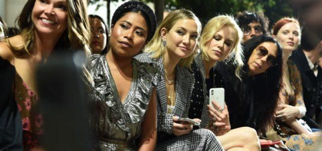 Yalitza se apodera del front row de Michael Kors junto a Nicole Kidman