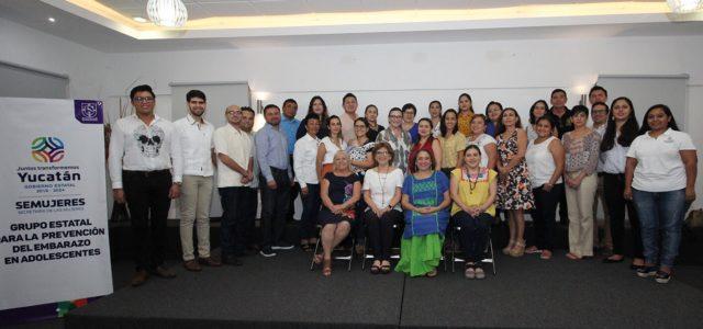 Yucatán coordina acciones para prevenir el embarazo adolescente