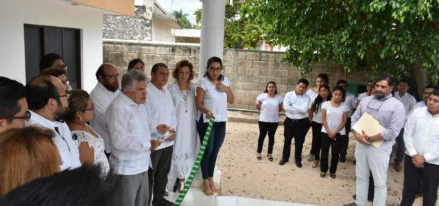 Inauguran nueva sede de juzgado mixto en Tizimín