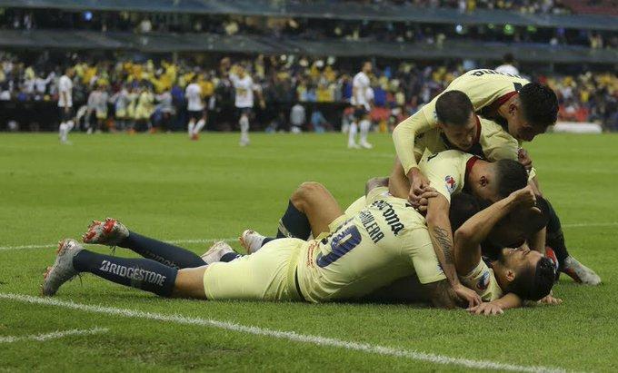 El yucateco Henry Martín marcó doblete y Águilas del América empatan 2-2 a los Gallos de Querétaro