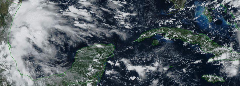 No guardes el paraguas, Conagua pronostica lluvias para la Península de Yucatán