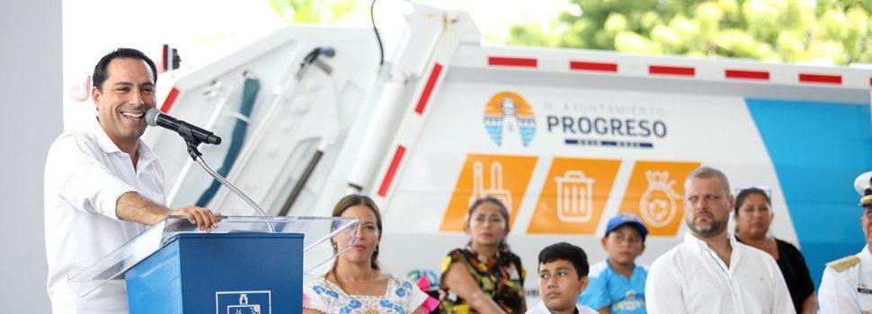 Mauricio Vila impulsa el mejoramiento de la imagen urbana y los servicios en la costa yucateca