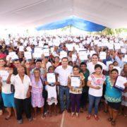 Mauricio Vila impulsa la realización de más de 17,000 acciones de vivienda en Yucatán