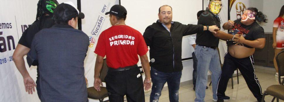 """Todo listo para """"Lucha Libre a la Mexicana"""""""