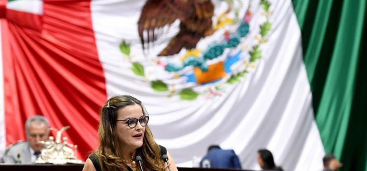 Parte Cecilia Patrón al Congreso de la Unión con abultada agenda de trabajo